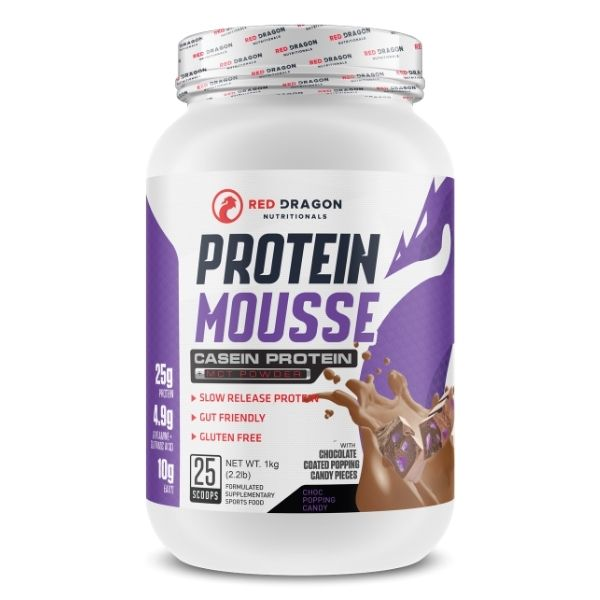 Red Dragon Nutritionals Protein Mousse - Choc Popping Candy