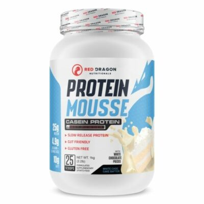 Red Dragon Nutritionals Protein Mousse - White Choc Cake Batter