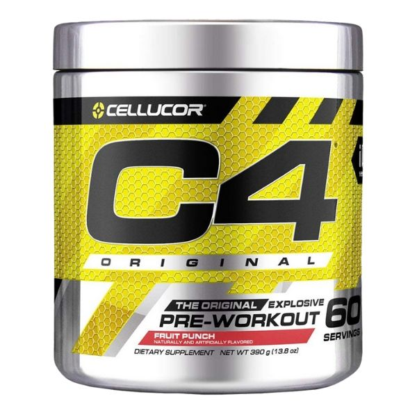 Cellucor C4 Pre Workout 60 Serves Fruit Punch