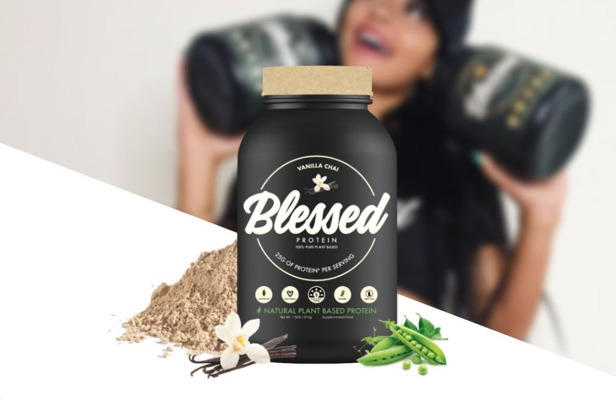 Clear Vegan Blessed Plant Protein Product