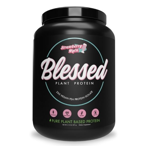 Clear Vegan EHP Labs Blessed Plant Protein - Strawberry Mylk