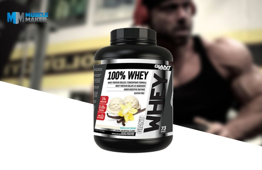 Giant Sports 100% whey protein Product