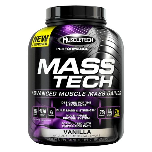 Muscletech Mass-tech 7lb - Vanilla