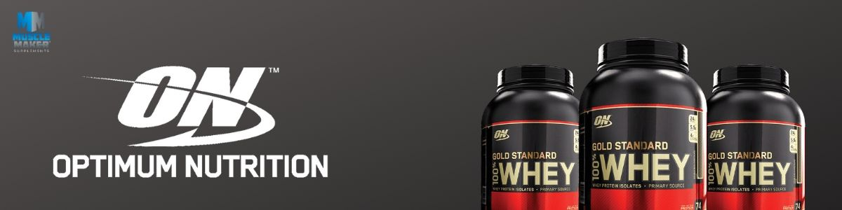Optimum Nutrition Gold Standard 100% Whey Banner