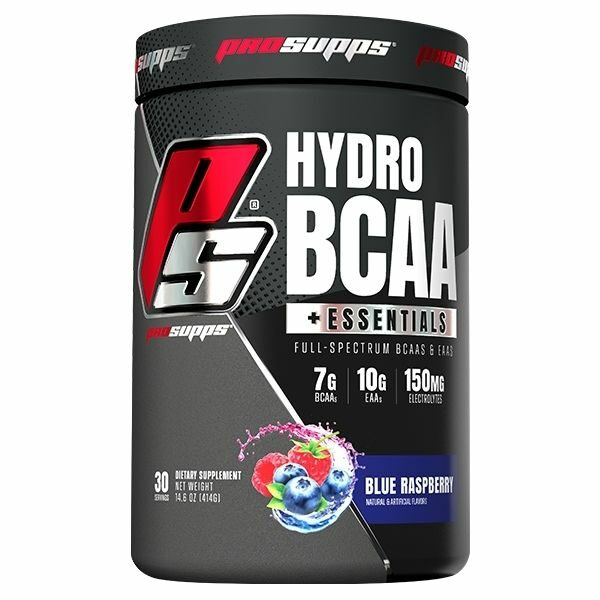 ProSupps HydroBCAA Essentials 30 Serve - Blue Raspberry