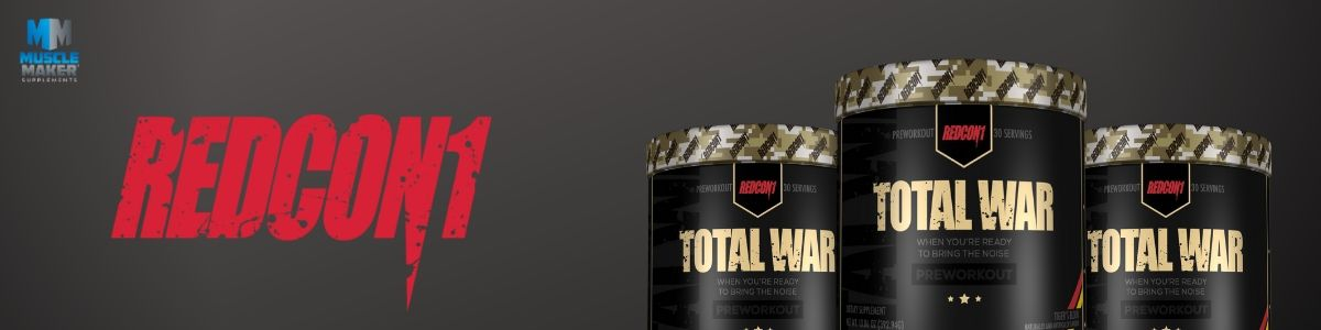 Redcon1 Total War Product Banner