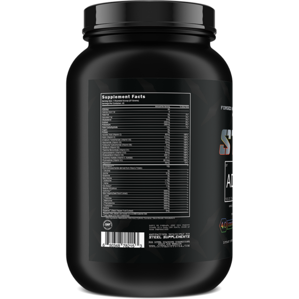 Steel Supplements Adabolic - Label