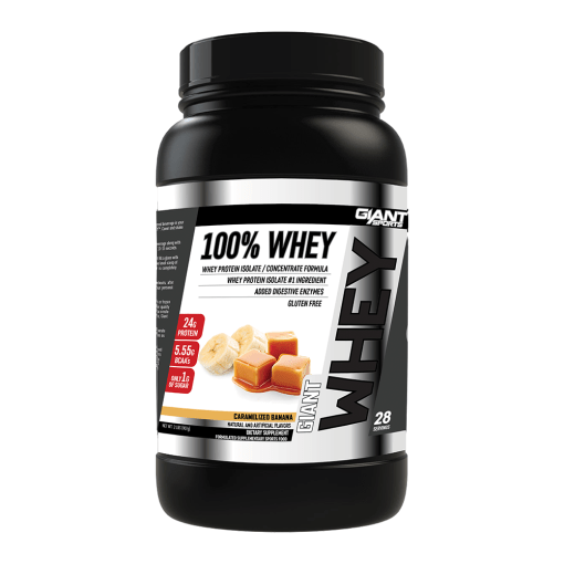 Giant Sports 100% Whey - Caram 2lb