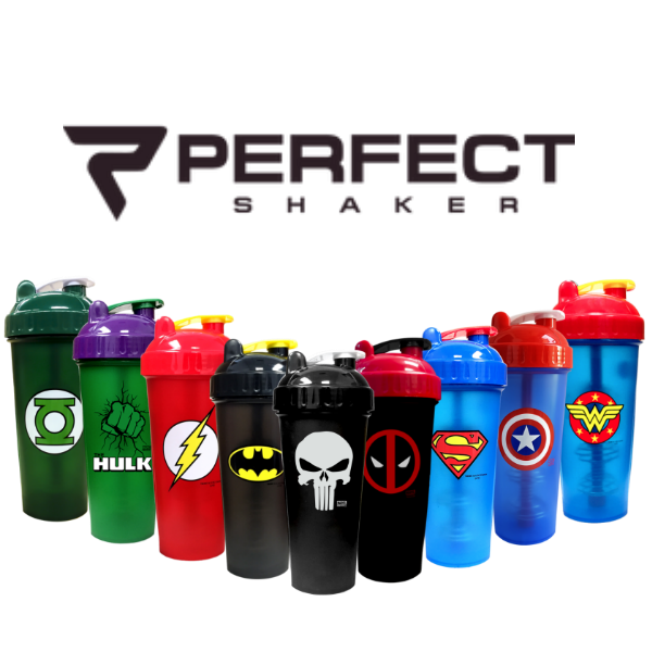 Perfect Shaker - Superhero Shakers