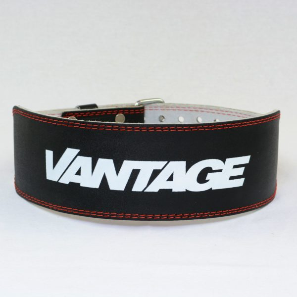 Vantage Sports Leather Weight Belt - Black 2
