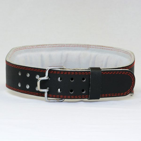 Vantage Sports Leather Weight Belt - Black