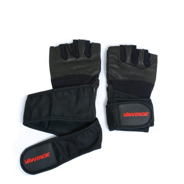 Vantage Sports Wrapped Gloves - Black