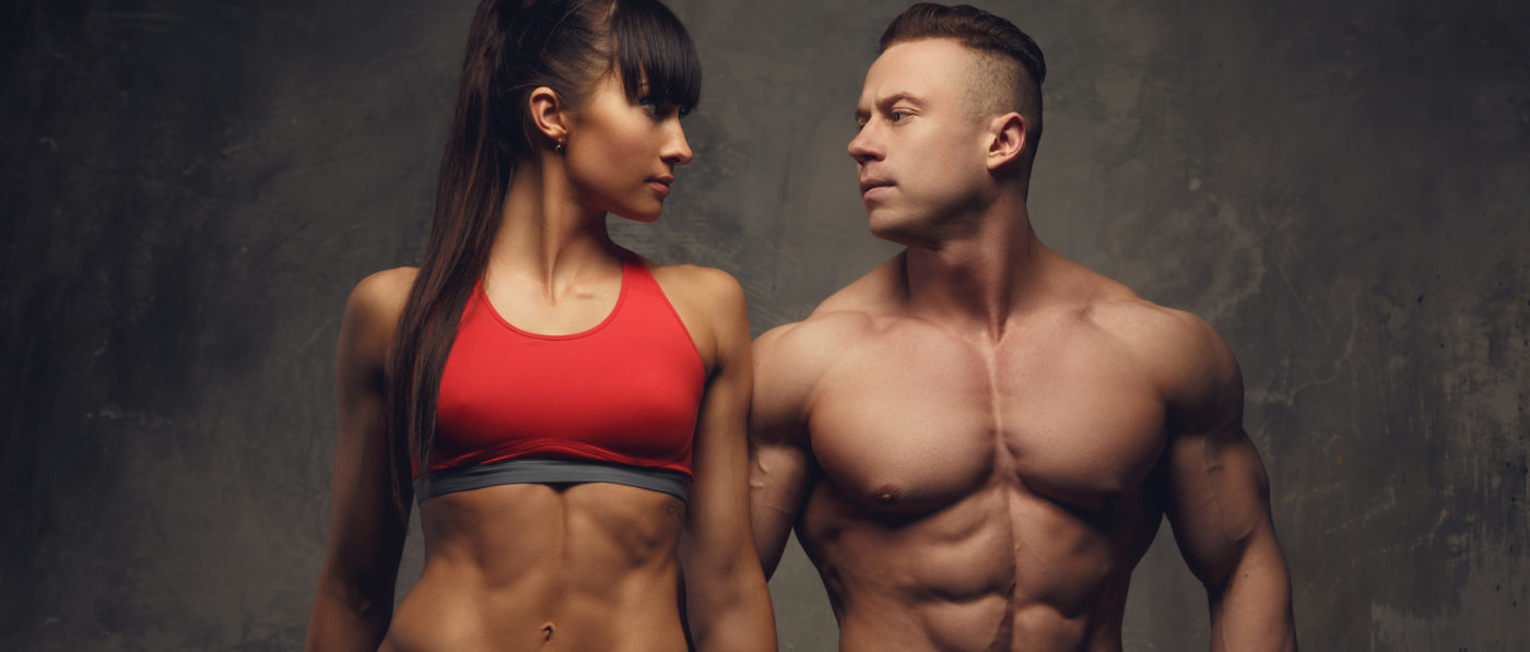 Muscle Maker Supplements Fitness Couple