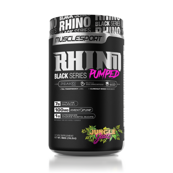 Musclesport Rhino Black Pumped Pre Workout