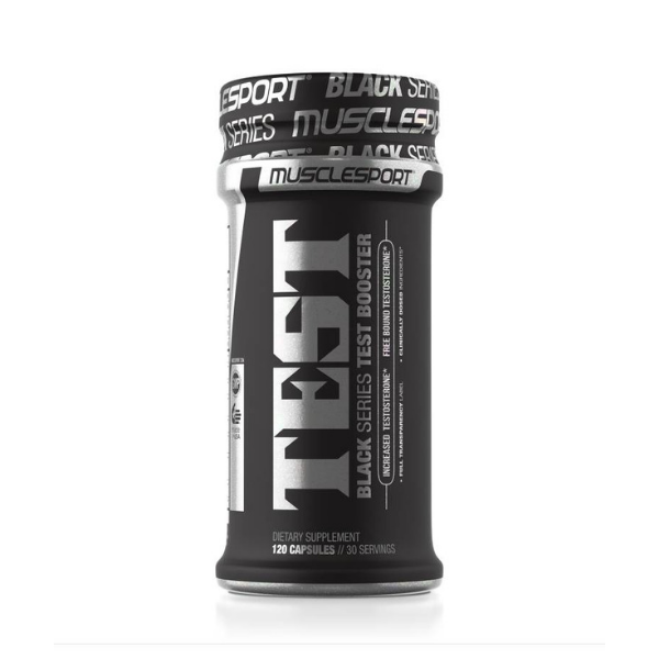 Musclesport Test Black
