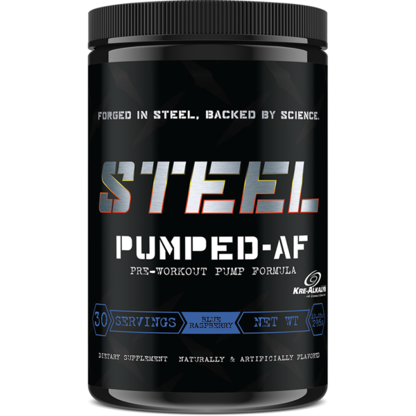 Steel Supplements - Pumped AF - BlueRas