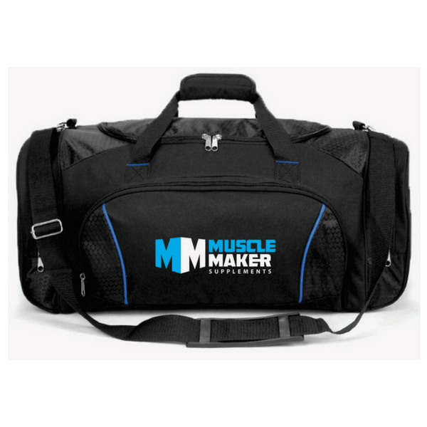 Muscle Maker Supplements - Gym Bag