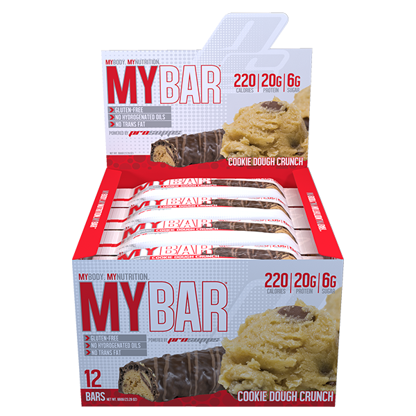 ProSupps MyBar Box of 12 - cookie dough crunch