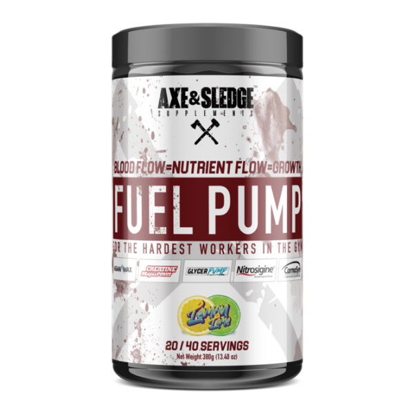 Seth Feroce Axe & Sledge Fuel Pump - Lemon Lime