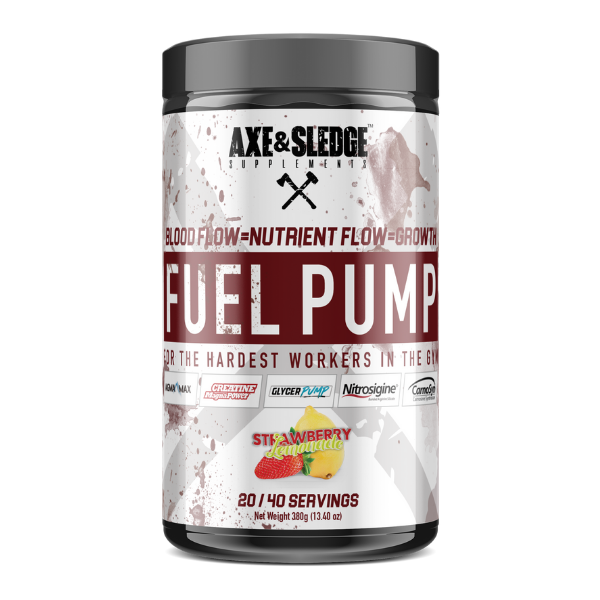 Seth Feroce Axe & Sledge Fuel Pump - Strawberry Lemonade