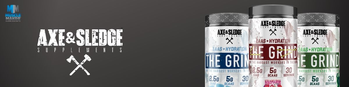 Axe & Sledge The Grind Product Banner
