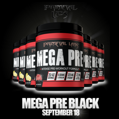 Primeval Labs Mega Pre Black Review