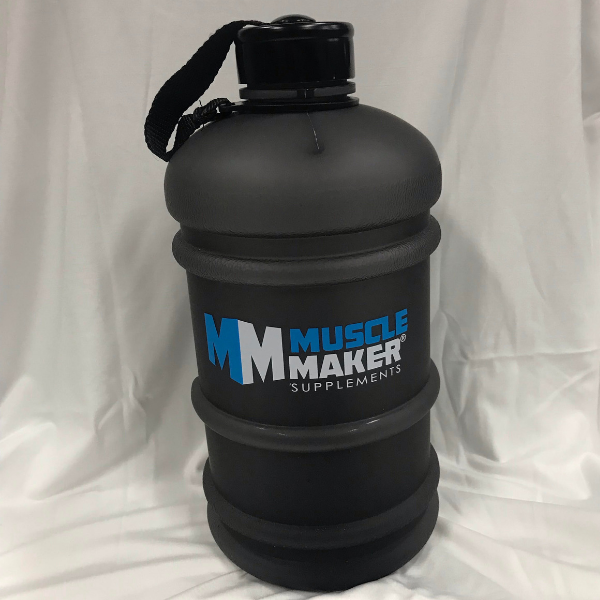 Muscle Maker Supplements 2.2L Water Bottle