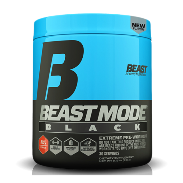Beast Sports Nutrition - Beast Mode Black