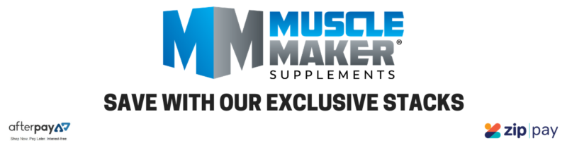 Muscle Maker Supplements Stacks Banner