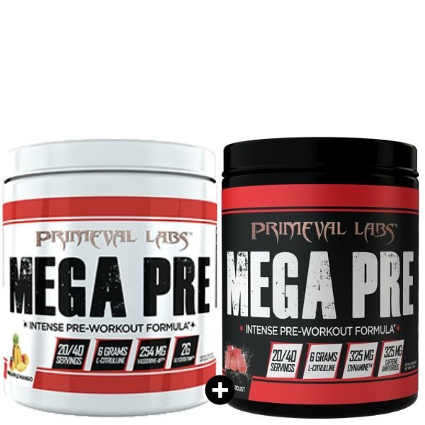 Primeval Labs Mega Pre Workout Stack