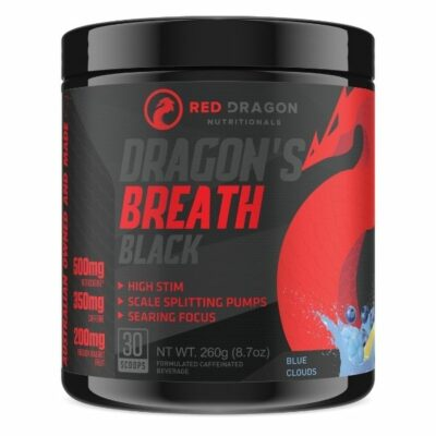 Red Dragon Nutritionals Dragon's Breath Black - Blue Clouds