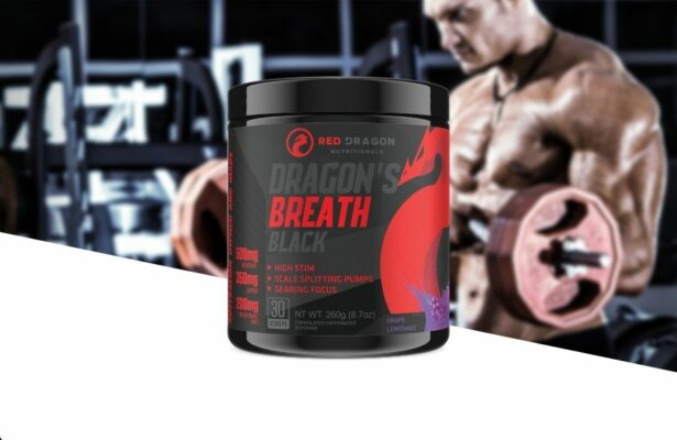 Red Dragon Nutritionals Dragons Breath Black Product