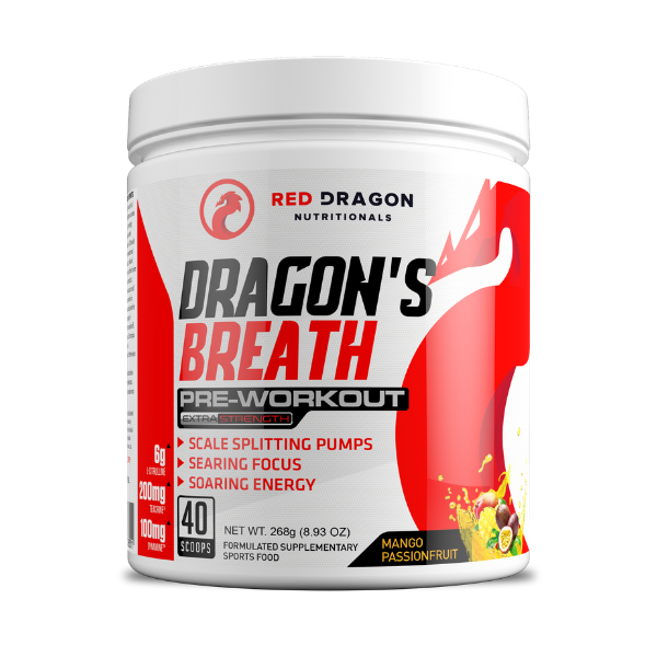 Red Dragon Nutritionals Dragon's Breathe - Mango