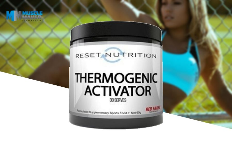Reset Nutrition Thermogenic Activator Product