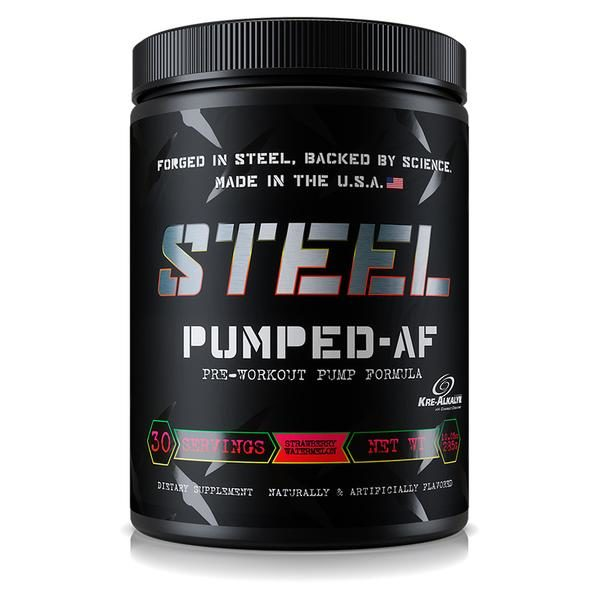 Steel Supplements - Pumped AF - Strawberry