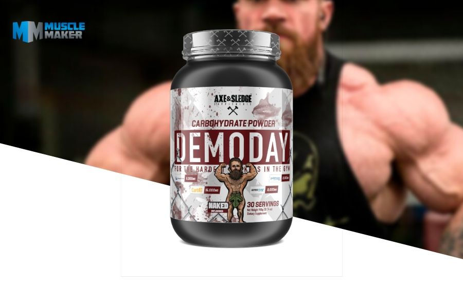 Axe & Sledge Demo Day Carbohydrates Product