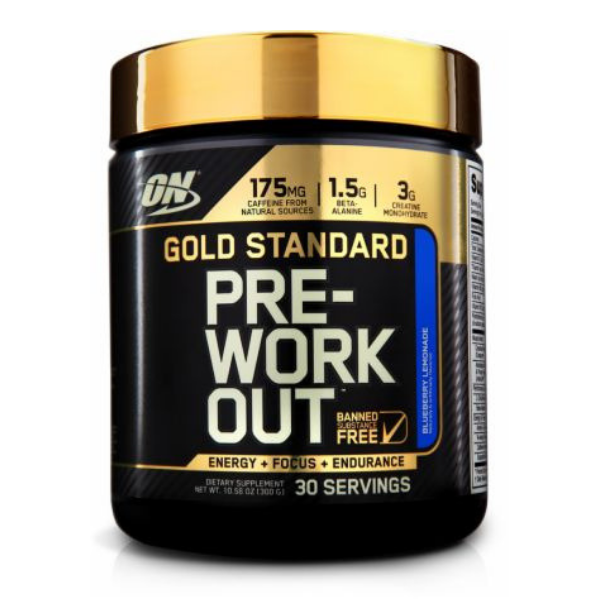 Optimum Nutrition Gold Standard Pre Workout - Blueberry Lemonade