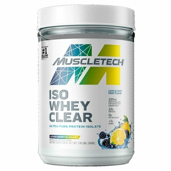 Muscletech Iso Whey Cler 1.1lb - 2021