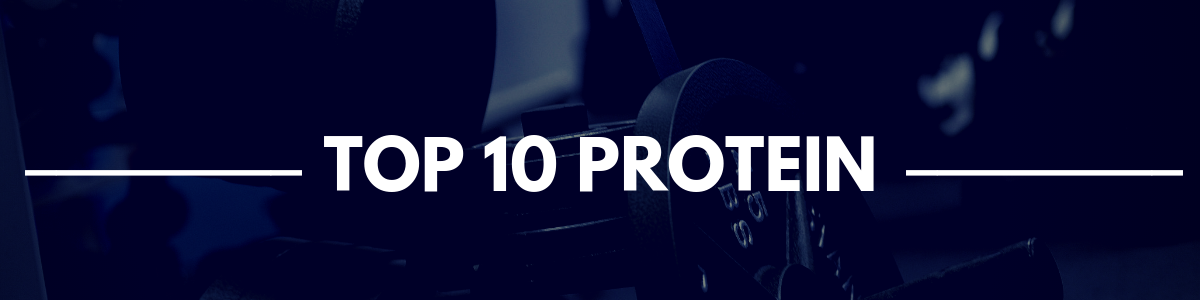 TOP 10 PROTEIN BANNER