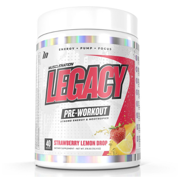 Muscle Nation Legacy Pre Workout - Strawb