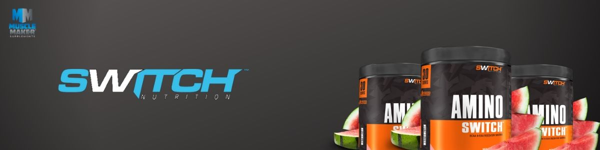 Switch Nutrition Amino Switch Product Banner