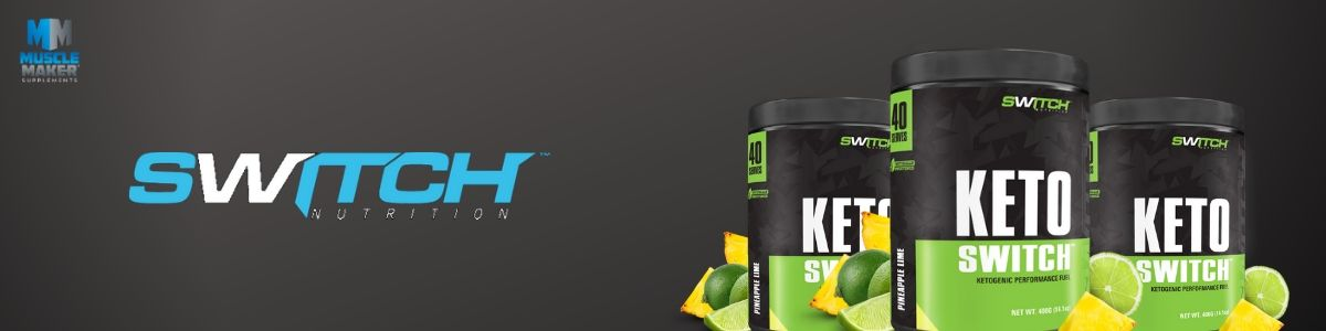 Switch Nutrition Keto Switch Product Banner