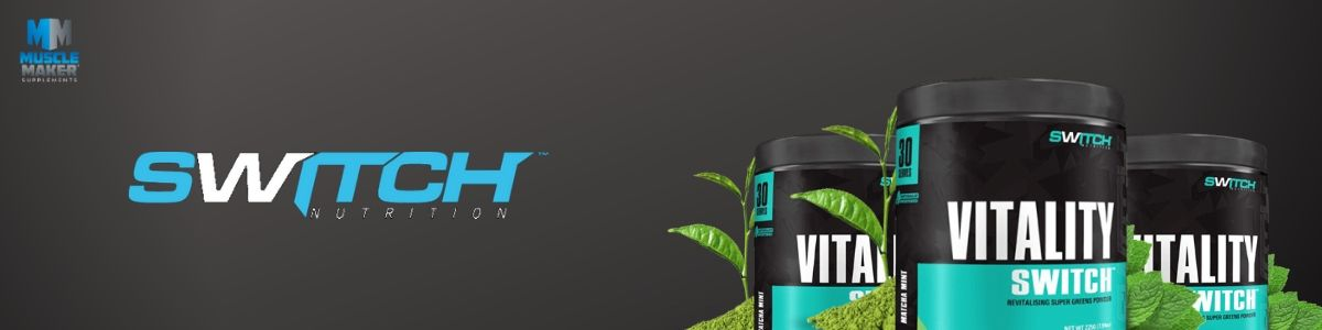 Switch Nutrition Vitality Switch Product Banner