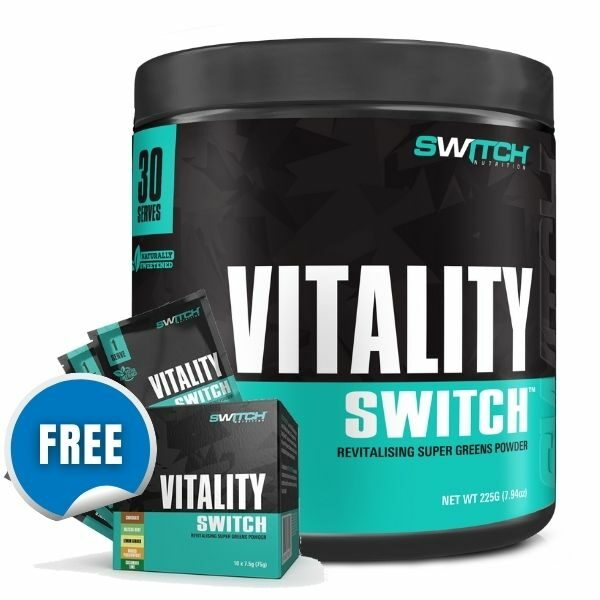 Switch Nutrition Vitality Switch - free sample pack