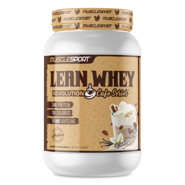 Musclesport Lean Whey Revolution_ Cafe Series -V Vanilla