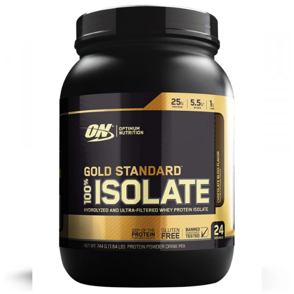 Optimum Nutrition Gold Standard 100% Isolate 2lb - Choc