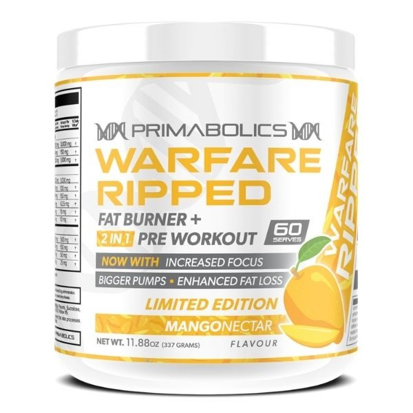 Primabolics Warfare Ripped - Limited Edition Mango Nectar