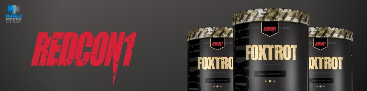 Redcon1 Foxtrot Product Banner