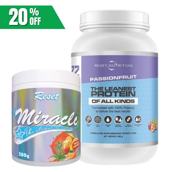 Reset Nutrition Weight loss stack