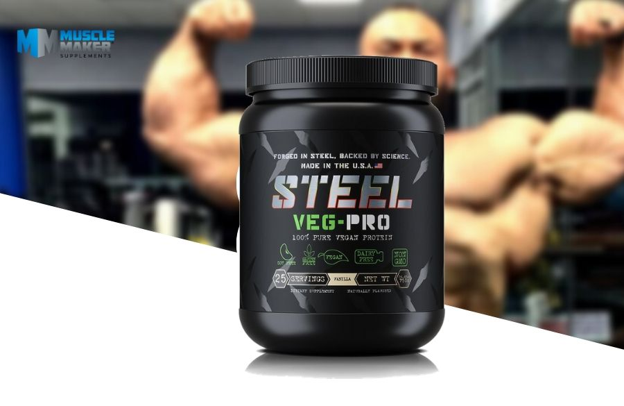 Steel Supplements Veg Pro Product